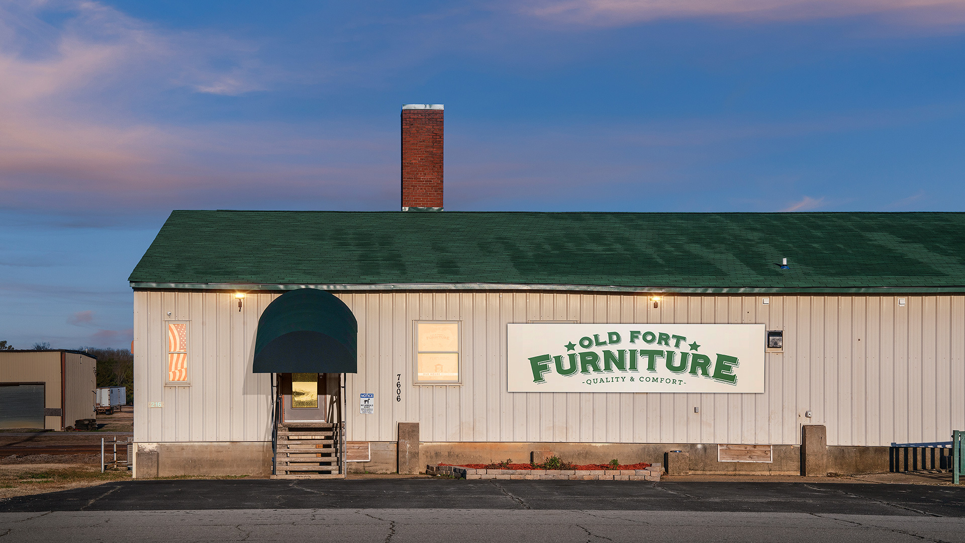 Old Fort Furniture Store, In the Historic Chaffee Crossing District